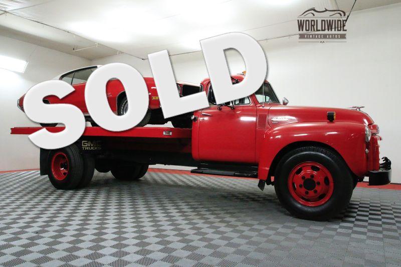 1951 GMC 450 CAR HAULER 5 WINDOW HYDRAULIC BED RESTORED | Denver, CO | WORLDWIDE VINTAGE AUTOS