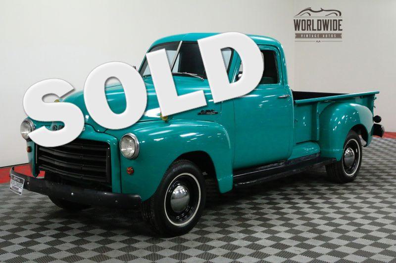 1951 GMC RARE HALF TON. 228CID INLINE 6 CYLINDER | Denver, CO | Worldwide Vintage Autos
