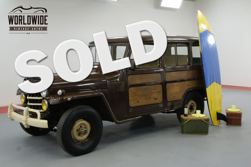 1951 Jeep WILLYS WAGON OVERLAND WAGON 4X4 WOOD GRAIN NICE! | Denver, CO | Worldwide Vintage Autos
