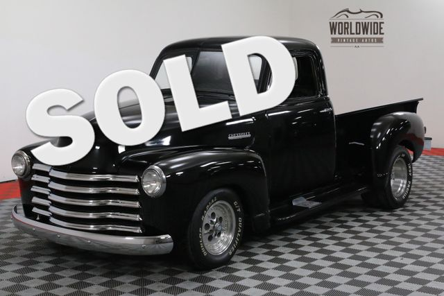 1952 Chevrolet 3100 NOVA SUBFRAME 355V8 CUSTOM STREET ROD | Denver, CO | WORLDWIDE VINTAGE AUTOS