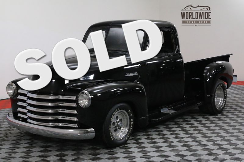 1952 Chevrolet 3100 NOVA SUBFRAME 355V8 CUSTOM STREET ROD | Denver, CO | Worldwide Vintage Autos