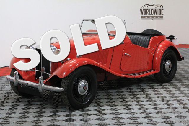 1952 Mg MGTD RARE BRITISH SPORTS CAR | Denver, CO | WORLDWIDE VINTAGE AUTOS