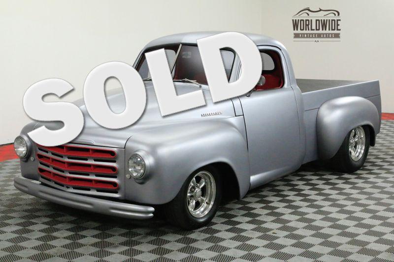 1952 Studebaker TRUCK 2R RESTOMOD TRUCK AC RESTORED. SHOW | Denver, CO | Worldwide Vintage Autos