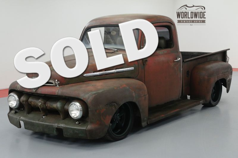 1953 Ford PICKUP RAT ROD. AUTO. PS. PB. DISC. CUSTOM WHEELS. | Denver, CO | Worldwide Vintage Autos