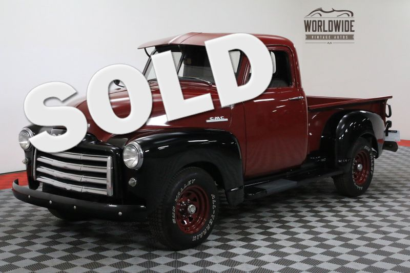 1953 GMC PICKUP CLEAN STOCK TWO TONE BEAUTY 3100 | Denver, CO | WORLDWIDE VINTAGE AUTOS
