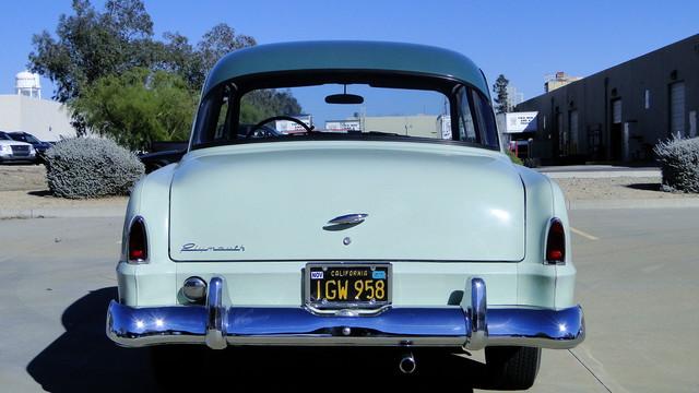 1953 Plymouth CAMBRIDGE 2 DOOR COUPE CLUB COUPE Phoenix, Arizona 11