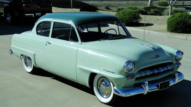 1953 Plymouth CAMBRIDGE 2 DOOR COUPE CLUB COUPE Phoenix, Arizona 7