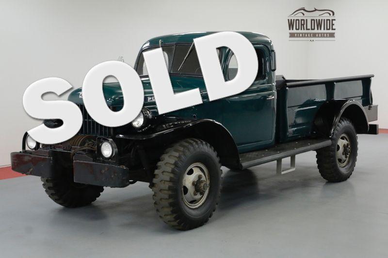 1954 Dodge POWER WAGON RESTORED RARE CIVILIAN MUST SEE 4X4 | Denver, CO | Worldwide Vintage Autos