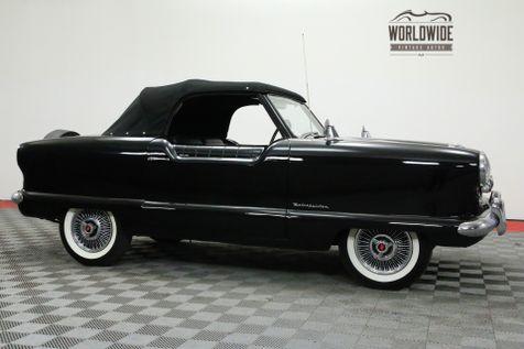 1954 Nash METROPLITAN CONVERTIBLE BLACK | Denver, CO | WORLDWIDE VINTAGE AUTOS in Denver, CO