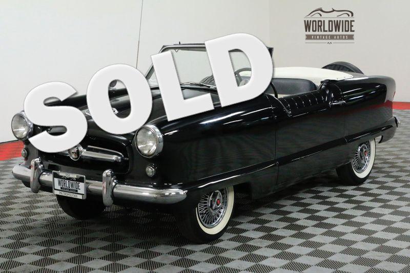 1954 Nash METROPLITAN CONVERTIBLE BLACK | Denver, CO | WORLDWIDE VINTAGE AUTOS