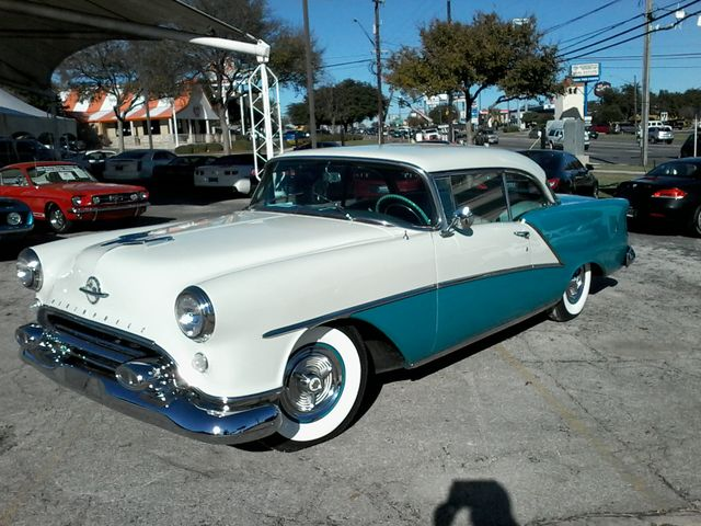 1954 Oldsmobile Ninety Eight Holiday HT San Antonio, Texas 6