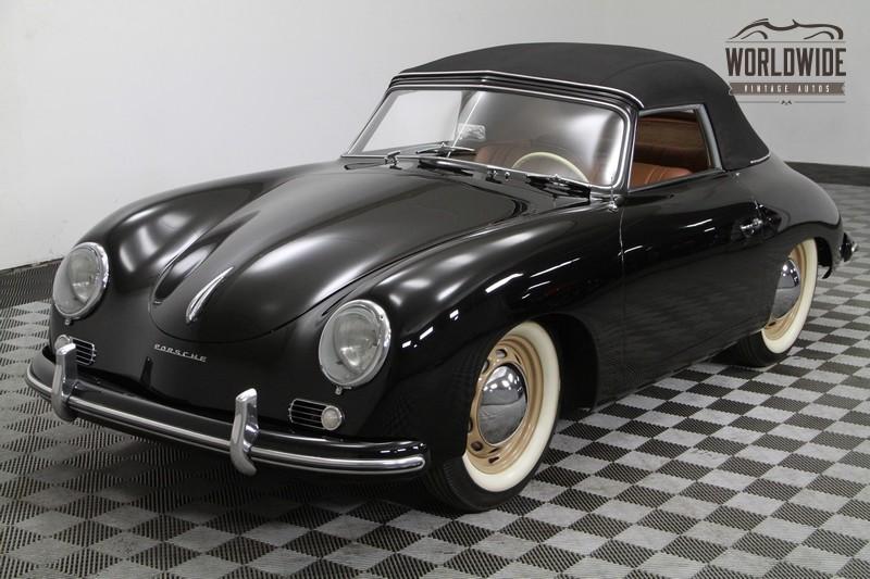 1954 Porsche 356/1500 Super Reutter  Cabriolet. Pre A. Concourse Restoration.