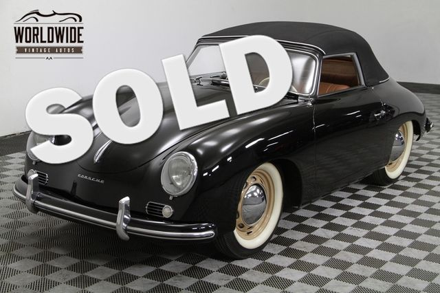 1954 Porsche 356/1500 Super Reutter  Cabriolet. Pre A. Concourse Restoration. | Denver, Colorado | Worldwide Vintage Autos