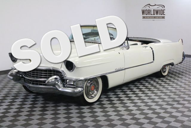 1955 Cadillac CONVERTIBLE RESTORED. ALMOST COMPLETE. RARE. MUST SEE  | Denver, CO | WORLDWIDE VINTAGE AUTOS