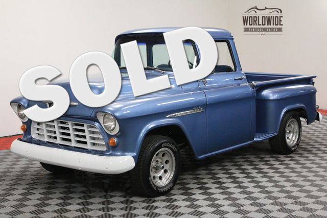 1955 Chevrolet 3100 BIG WINDOW STEP SIDE EXCELLENT DRIVER | Denver, Colorado | Worldwide Vintage Autos