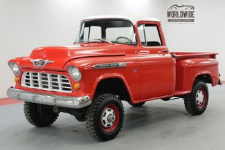 1955 Chevrolet 3600 BIG WINDOW NAPCO 4X4 4-SPEED 350 CIDV8 | Denver, CO | Worldwide Vintage Autos in Denver CO
