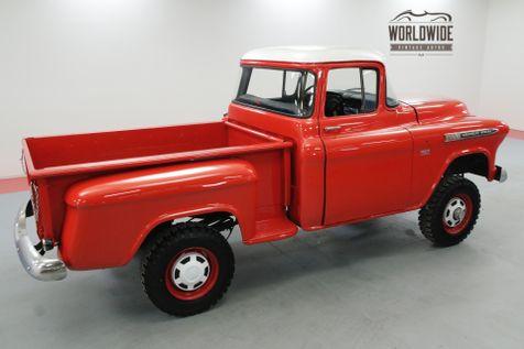 1955 Chevrolet 3600 BIG WINDOW NAPCO 4X4 4-SPEED 350 CIDV8   Denver, CO   Worldwide Vintage Autos in Denver, CO