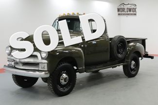 1955 Chevrolet 3600 NAPCO 4X4 FRAME OFF RESTORED RARE COLLECTOR | Denver, CO | Worldwide Vintage Autos in Denver CO