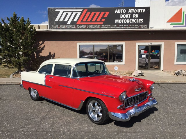 1955 chevrolet bel air layton utah red 1955 chevrolet bel air classic car in layton ut. Black Bedroom Furniture Sets. Home Design Ideas