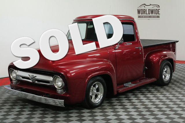 1955 Ford F100 460V8 C6 AUTOMATIC DISC BRAKES DUAL EXHAUST | Denver, CO | WORLDWIDE VINTAGE AUTOS