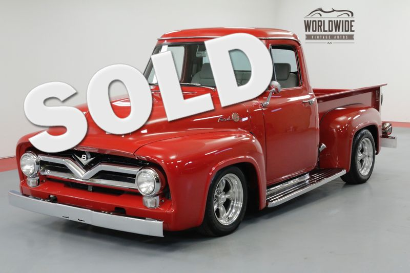 1955 Ford F100 RESTORED HOT ROD 351W V8 AUTO PS DISC | Denver, CO | Worldwide Vintage Autos