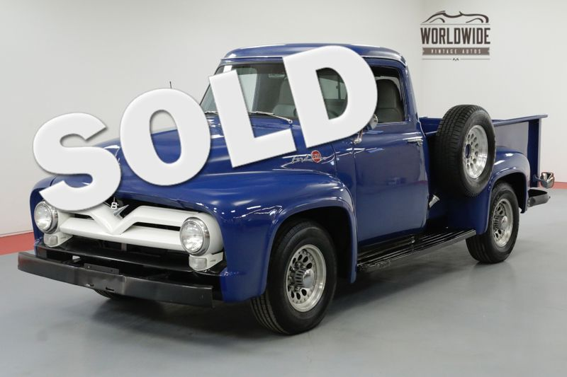 1955 Ford F250 FRAME OFF RESTORED V8 VINTAGE A/C 4K MILES | Denver, CO | Worldwide Vintage Autos