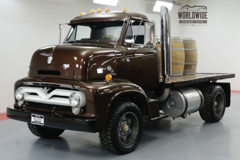 1955 Ford F600 COE RESTORED TWIN TURBO CUMMINS DIESEL SHOW | Denver, CO | Worldwide Vintage Autos in Denver, CO