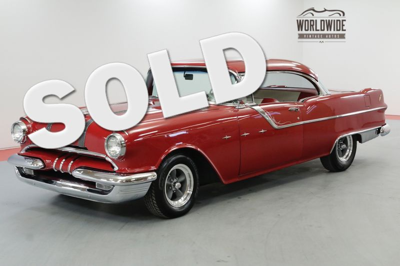 1955 Pontiac STAR CHIEF FRAME OFF RESTORED 350V8 700R4 AUTOMATIC AC | Denver, CO | Worldwide Vintage Autos