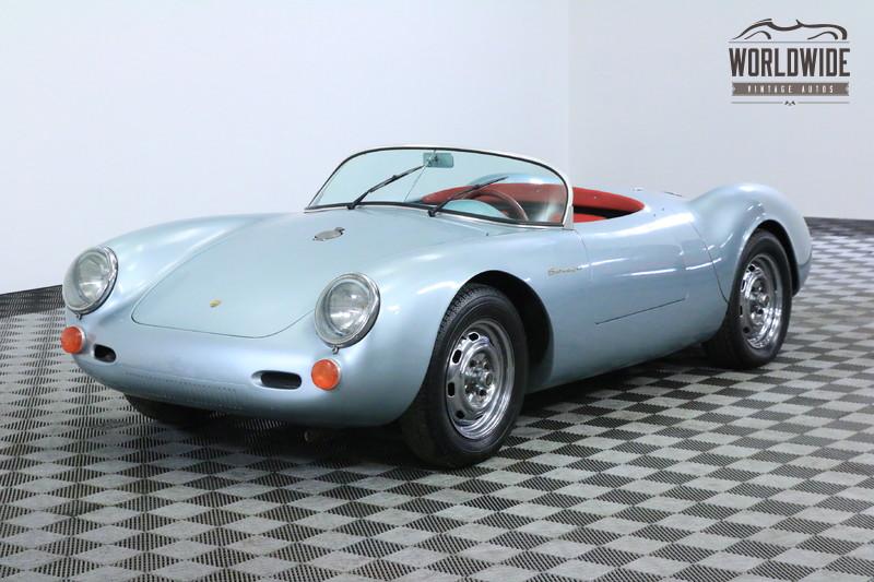 1955 Porsche SPYDER 550 BECK RECREATION EXCELLENT DRIVER