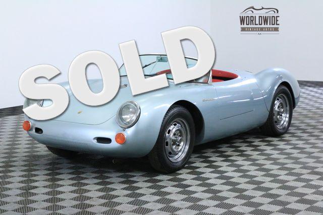1955 Porsche SPYDER 550 BECK RECREATION EXCELLENT DRIVER   Denver, Colorado   Worldwide Vintage Autos