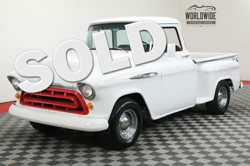 1956 Chevrolet 3100 TRUCK BIG WINDOW V8 SHORT BED | Denver, CO | WORLDWIDE VINTAGE AUTOS