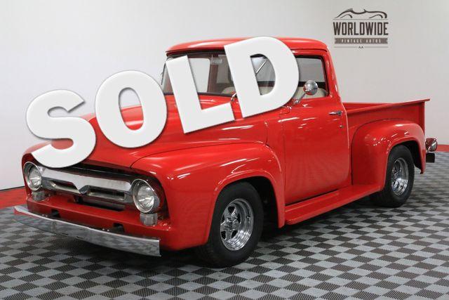 1956 Ford F100 RESTORED 11K MILES 351 V8 AC PS PB DISC | Denver, CO | WORLDWIDE VINTAGE AUTOS