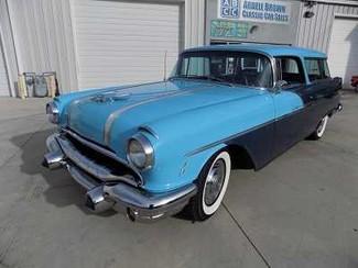 1956 Pontiac Safari Wagon -Utah showroom Newberg, Oregon 1
