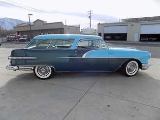 1956 Pontiac Safari Wagon -Utah showroom Newberg, Oregon 3
