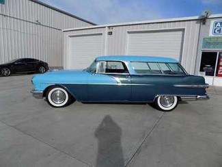 1956 Pontiac Safari Wagon -Utah showroom Newberg, Oregon 4