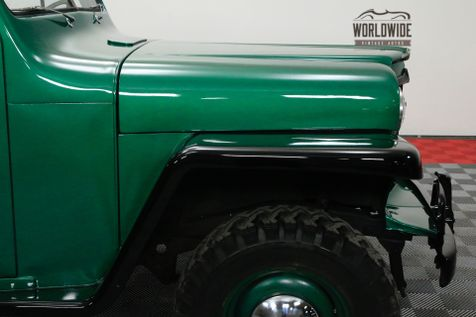 1956 Willys PICKUP RESTORED RARE 4X4 TRUCK COLLECTOR | Denver, CO | WORLDWIDE VINTAGE AUTOS in Denver, CO