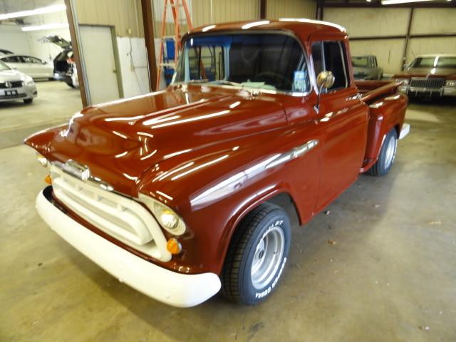 1957 Chevrolet 3100 Cameo Carrier | Gilmer, TX | H.M. Dodd Motor Co., Inc. in Gilmer TX