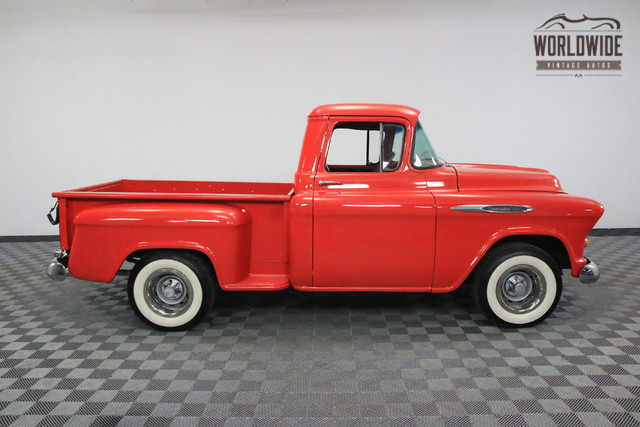 1957 chevrolet 3200 pickup restored v8 auto ebay. Black Bedroom Furniture Sets. Home Design Ideas