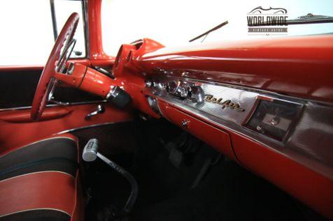 1957 Chevrolet BEL AIR V8 4 Speed INCREDIBLE PAINT | Denver, Colorado | Worldwide Vintage Autos in Denver, Colorado