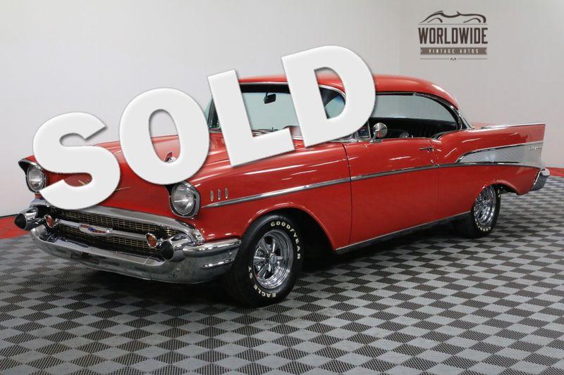 1957 Chevrolet BEL AIR 2 DOOR HARDTOP HOT ROD 283 V8 AUTO | Denver, CO | WORLDWIDE VINTAGE AUTOS