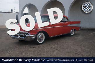 1957 Chevrolet Bel Air Freshly Rebuilt 283 Power Pack  in Garland
