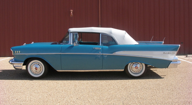 1957 Chevrolet BEL AIR CONVERTIBLE | Lubbock, Texas | Classic Motor Cars