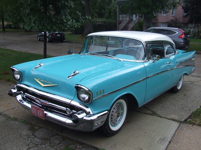 1957 Chevrolet Bel Air  | Mokena, Illinois | Classic Cars America LLC in Mokena Illinois
