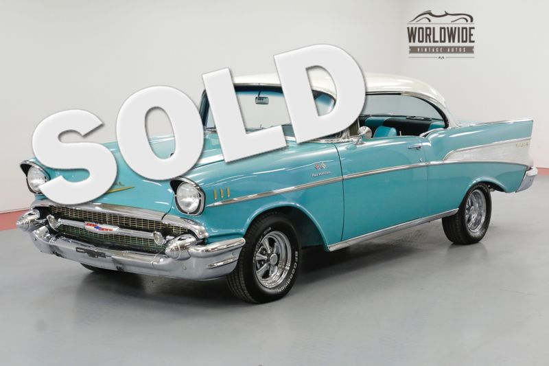 1957 Chevrolet BELAIR V8 FUEL INJECTED AUTO CLASSIC CRUISER | Denver ...