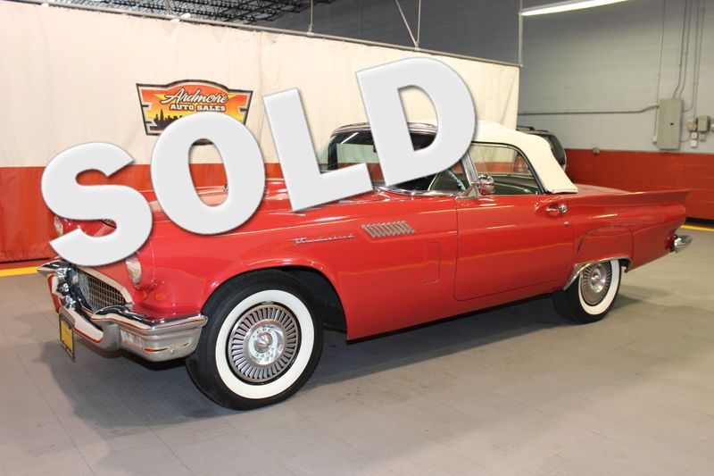 1957 Ford Thunderbird   city Illinois  Ardmore Auto Sales  in West Chicago, Illinois