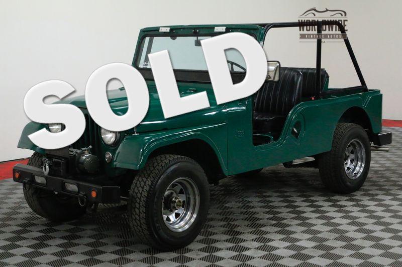1957 Jeep CJ6 FRAME OFF RESTORED 4X4 1K MILES! | Denver, CO | Worldwide Vintage Autos