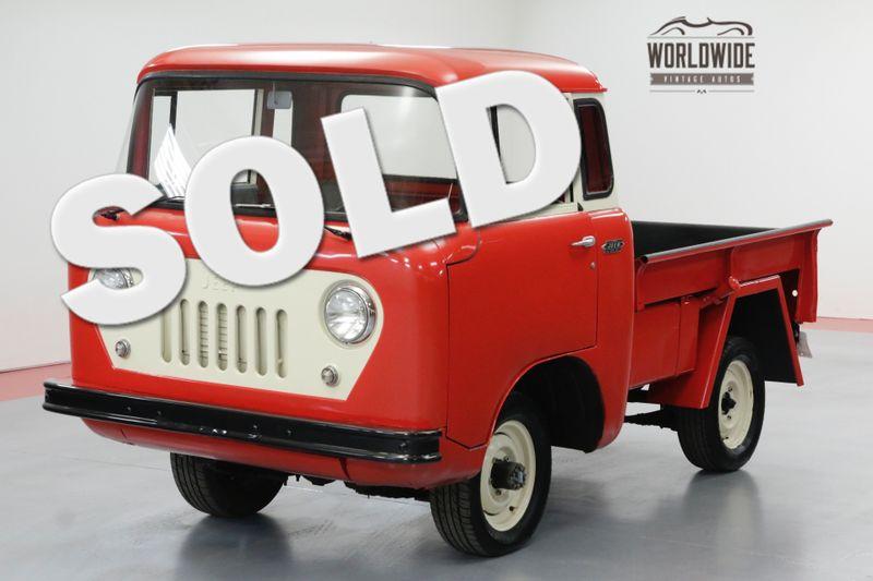 1957 Jeep FC150 FRAME OFF RESTORED 500 MILES 4X4 RARE | Denver, CO | Worldwide Vintage Autos