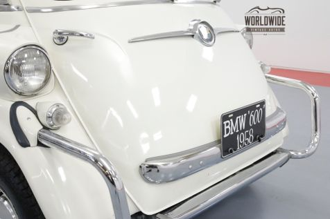 1958 BMW ISETTA OLDER RESTORATION ICONIC MICRO CAR MUST SEE | Denver, CO | Worldwide Vintage Autos in Denver, CO