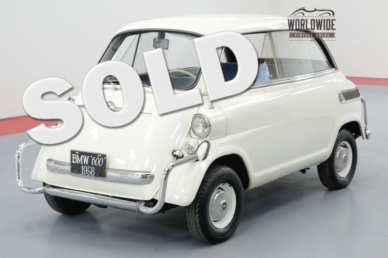 1958 BMW ISETTA OLDER RESTORATION ICONIC MICRO CAR MUST SEE | Denver, CO | Worldwide Vintage Autos