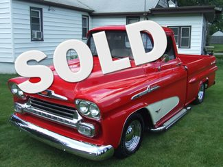 1958 Chevrolet 3100 Fleetside | Mokena, Illinois | Classic Cars America LLC in Mokena Illinois